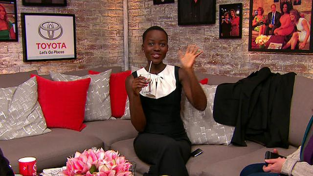 Actress Lupita Nyong'o talks Beyonce's new album in the Toyota Green Room