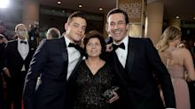 Rami Malek's Mom Attended the Golden Globes With Him So She Could Meet Jon Hamm