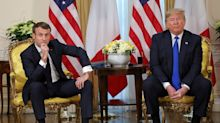 Das große Lästern:  Macron, Johnson und Trudeau tratschen über Trump