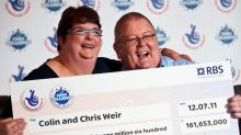 UK couple who scooped £161m record-breaking Lottery prize set to divorce 'amicably'