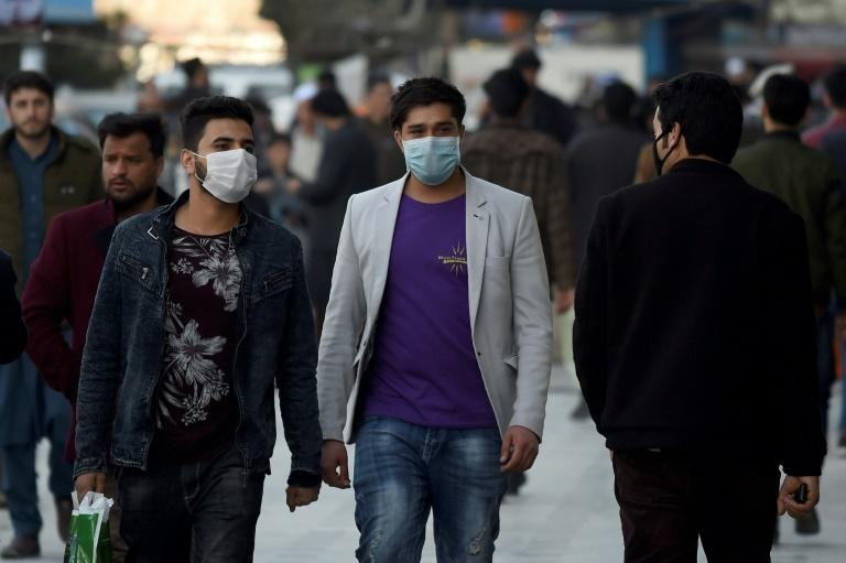 Afghanistan has one confirmed case of coronavirus -- a patient who had recently been in Iran where millions of Afghans live (AFP Photo/WAKIL KOHSAR)