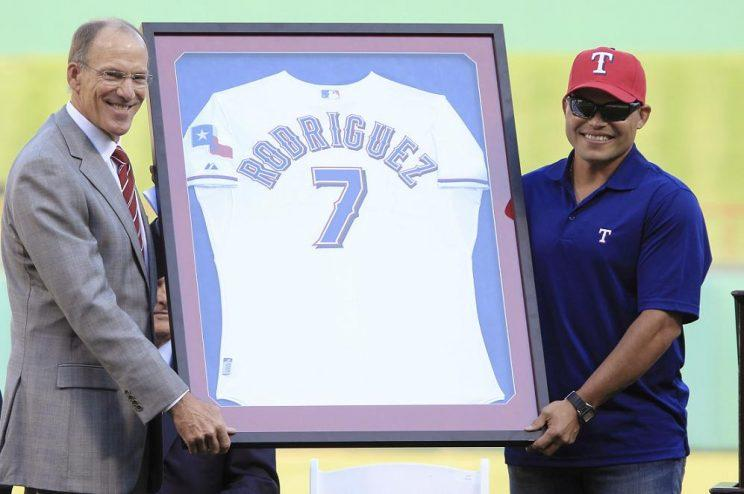 2b7d81f4160 Rangers to retire Ivan Rodriguez s No. 7 after Hall of Fame induction