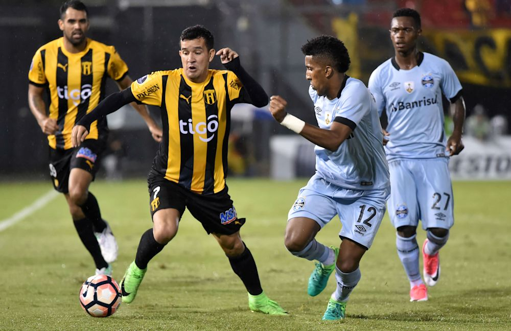 Los partidos de los paraguayos en la Copa Libertadores