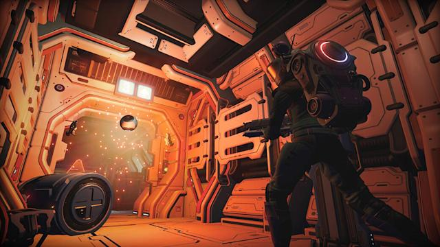 'No Man's Sky' update adds derelict freighters filled with horror