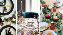 Christmas inspiration: 7 gorgeous table setting ideas