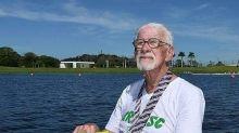 Grupo de risco? Remador de 91 anos que venceu Mundial Master no ano passado aguarda passagem do coronavírus