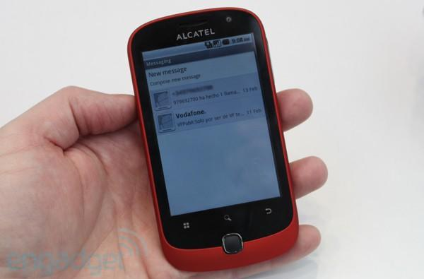 Alcatel Onetouch 990 coming to O2 this August, wants to be held (even just once)