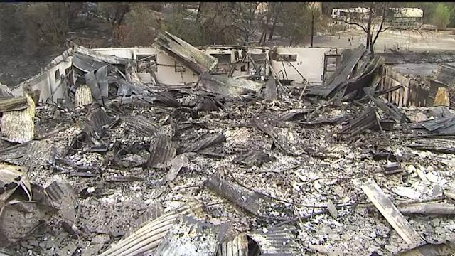 Fast-Spreading Fire Destroys Several Homes, Threatens Propane Company