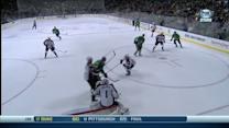 Jamie Benn places it perfectly to top corner