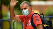 Colombia part company with Queiroz