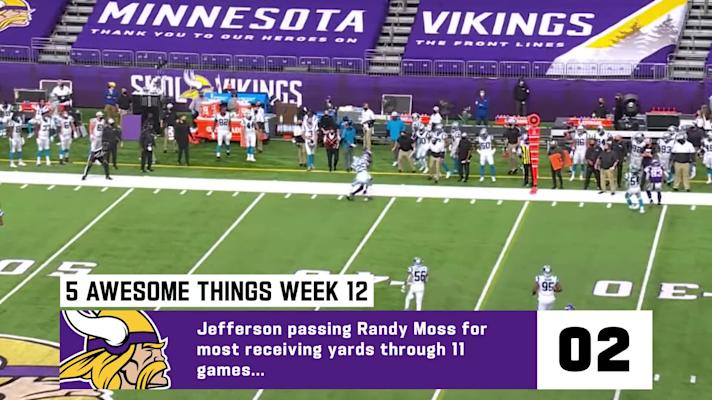 5 awesome things from the Vikings' Week 12 thrilling comeback