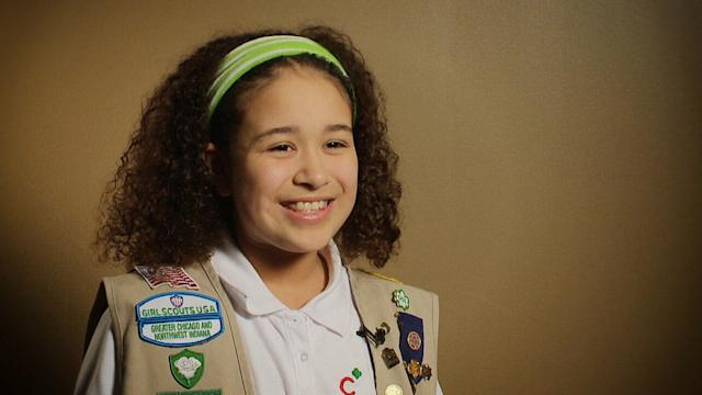 60 SECONDS WITH A GIRL SCOUT
