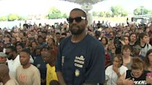 Kanye West Leads 'Sunday Service' in Dayton, OH in Support of Mass Shooting Victims