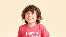 J.Crew is under fire for a pink 'I am a feminist too' T-shirt for boys
