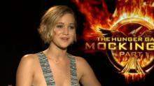 Jennifer Lawrence Tells Elizabeth Banks Her Personal Soundtrack Is 'Barbie Girl'