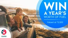 Enter to win a year's worth of fuel from Caltex
