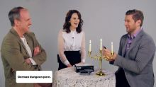 Watch the 'Downton Abbey' Cast Get Naughty Playing Cards Against Humanity