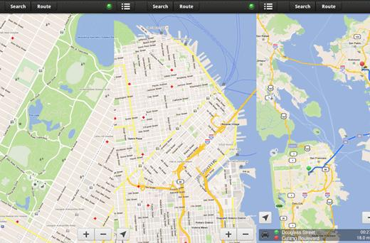 Skobbler brings maps to Nook Tablet, Color with ForeverMap 2