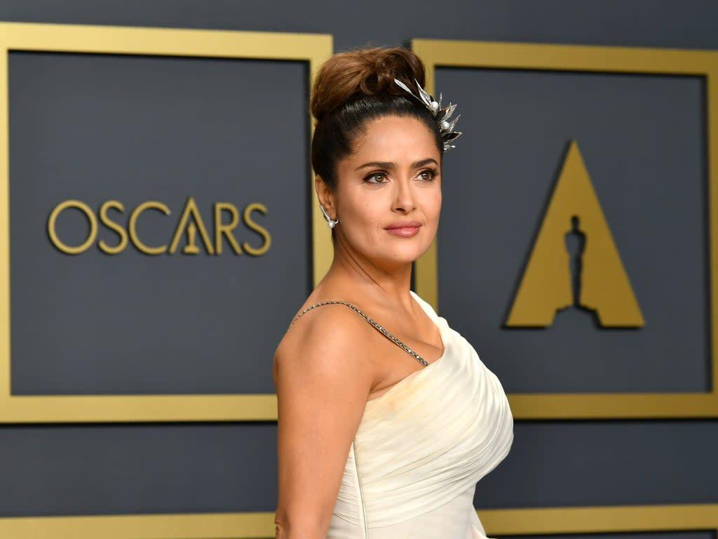 Hitman's Wife's Bodyguard star Salma Hayek struggled to learn the name of her own movie