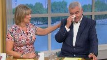 This Morning's Ruth Langsford comforts a tearful Eamonn Holmes