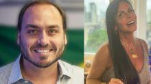 """Gretchen se revolta com Carlos Bolsonaro: """"Você é apaixonado pelo meu filho"""""""