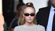 Lily-Rose Depp Gives a Lesson in the French vs. American Ponytail