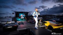 Dinamarca e Noruega promovem shows de música com público dentro de carros