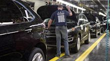 Trump suggests auto imports affect national security