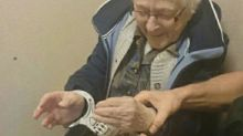 Cops arrest 99-year-old woman to cross it off her bucket list
