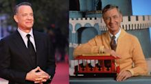 See New Photos of Tom Hanks as Mister Rogers in the Biopic 'A Beautiful Day in the Neighborhood'