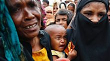Rohingya flee to Bangladesh after Myanmar attacks