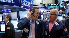 Wall Street advances with help from technology, financials