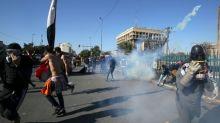 Three rockets hit US embassy in protest-hit Iraqi capital
