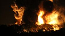 Diesel train fire leads to evacuations in south Wales