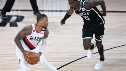 Blazers star won't get caught in that trap again