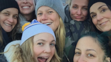 Drew Barrymore and Crew Inspire With Makeup-Free Group Selfie