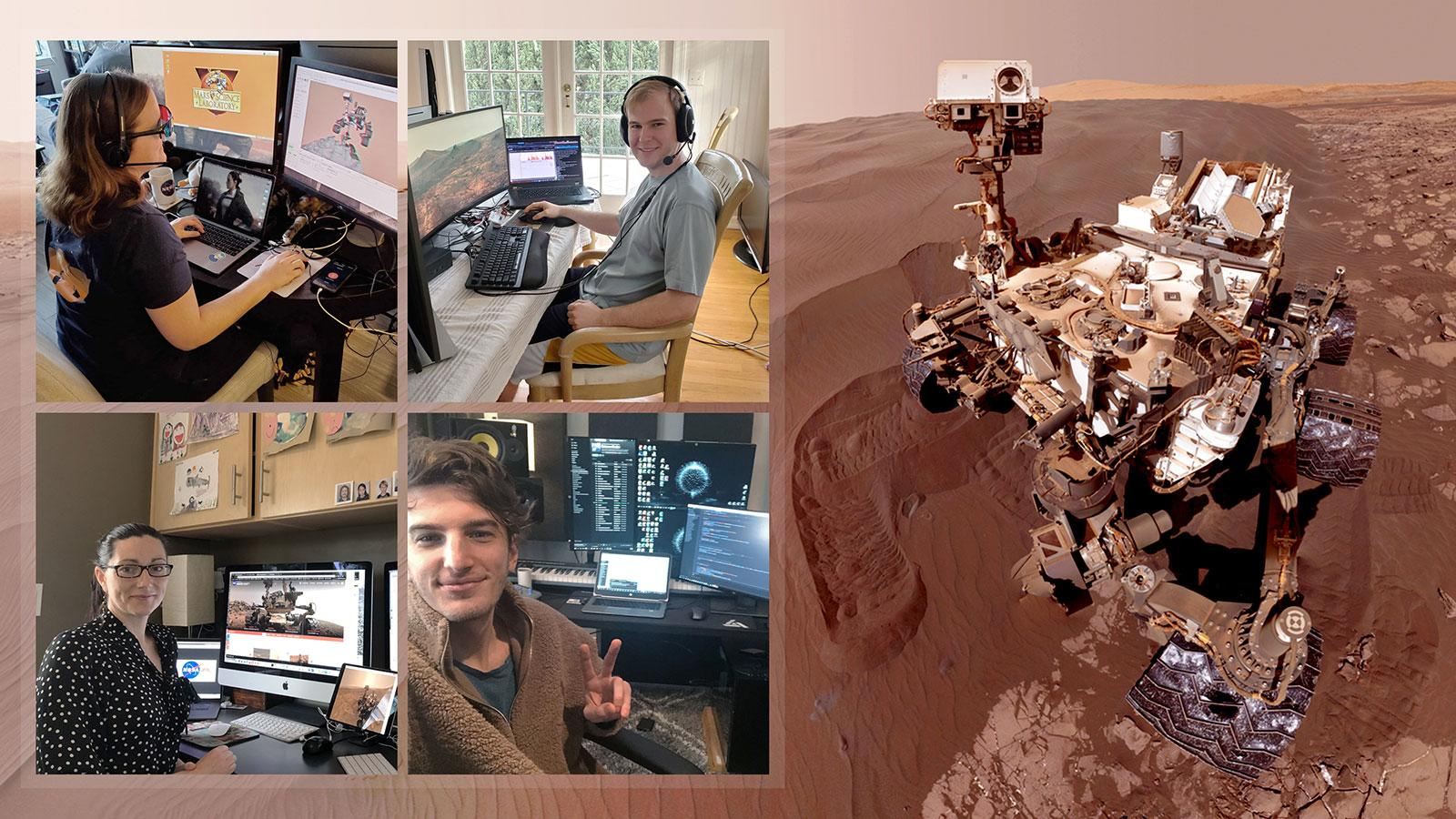 NASA Scientists Operate Mars Curiosity From Home Due to Lockdown