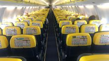 Ryanair: £1bn profit turns to £180m loss and company predicts 75% fall in passengers