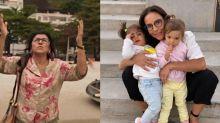 Regina Casé revela inspiração em Ivete Sangalo ao gravar novela