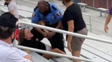 Usa, poliziotto colpisce con taser una ragazza che non indossa la mascherina