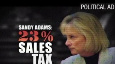 Truth Test: Does Sandy Adams Support A 23 Percent Sales Tax?
