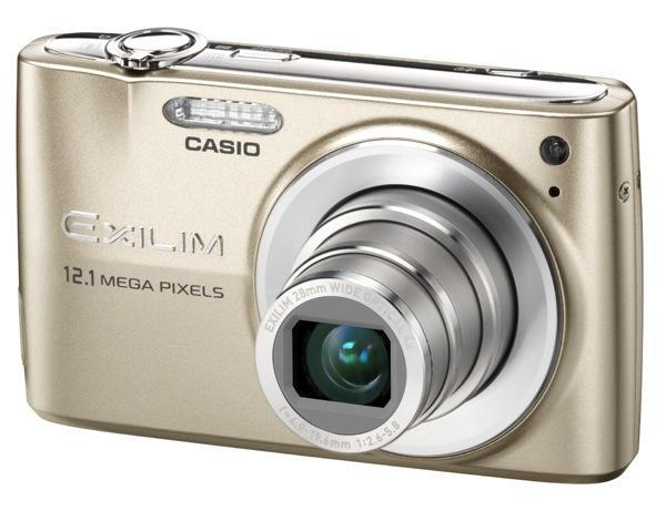 Casio outs Exilim EX-Z400, EX-Z270, EX-S12, and EX-S5 shooters