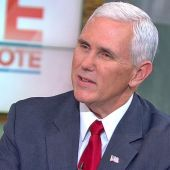 Mike Pence Says Donald Trump 'Took Command of the Stage' in Debate