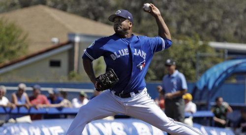 Blue Jays, MLB, Francisco Liriano