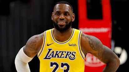 LeBron James says NBA will go on whether or not Donald Trump watches it