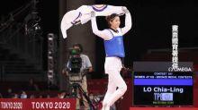 好會踢!跆拳道女將羅嘉翎 57公斤級賽勝尼日好手摘銅