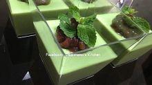 【食譜】綠茶紅豆布丁