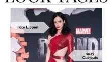 Look des Tages: Krysten Ritter in Rot