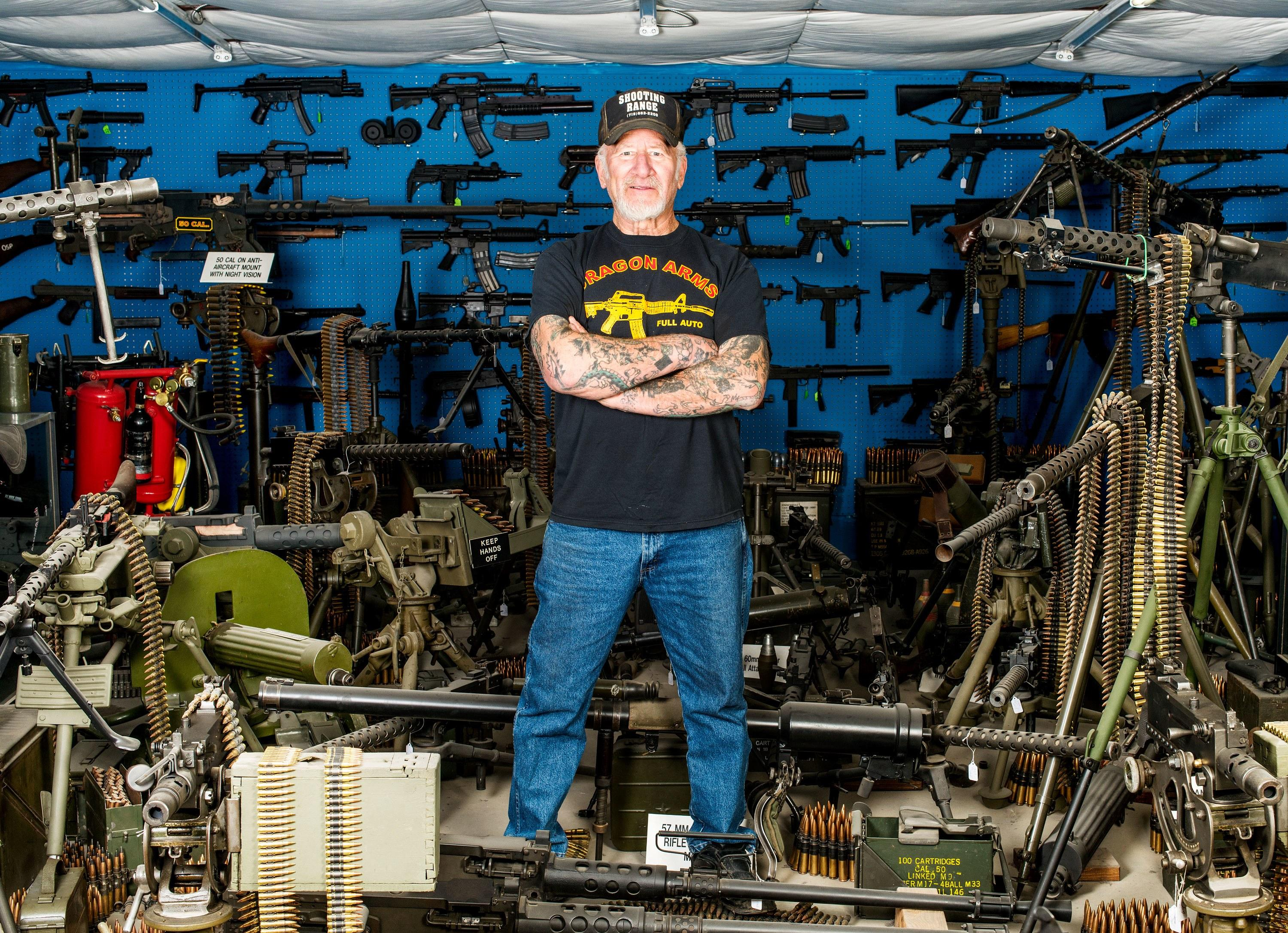 "Dragonman, the Man Who Sells ""People-Hunting Guns"""