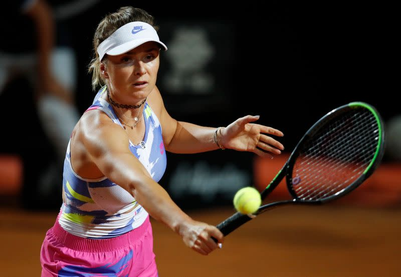 Svitolina says best preparation on clay in years not adding to pressure
